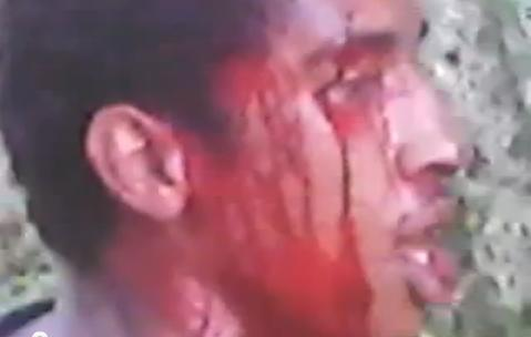 Estrupador Apanhando – amarrado, torturado e assassinado com três